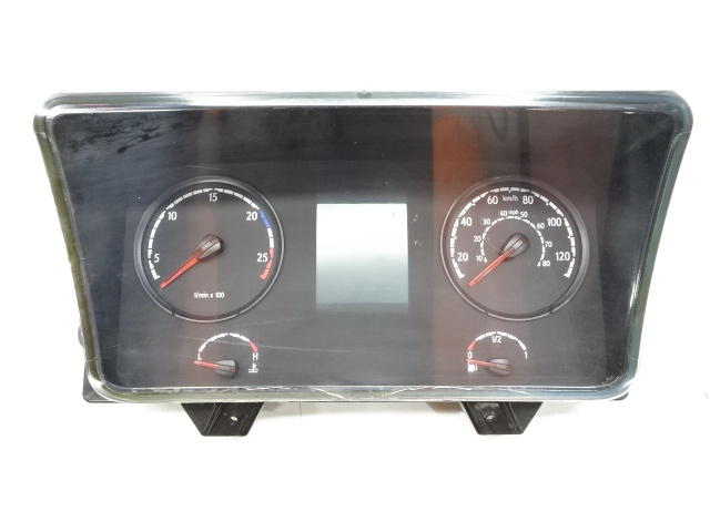 Instrument cluster km/h and mph